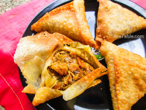 Beef Samosa Recipe - Homemade Snack Recipe - Traditional Recipe
