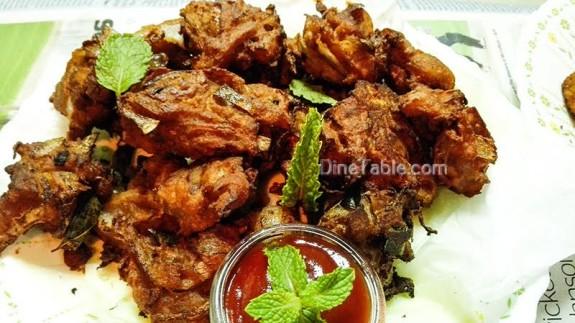 Prawns Ulli Baji Recipe - Homemade Snack Recipe - Delicious Recipe