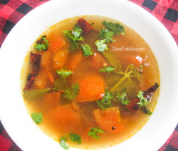 Black Pepper Rasam Recipe - കുരുമുളക് രസം - Kerala Recipe - Side Dish Recipe