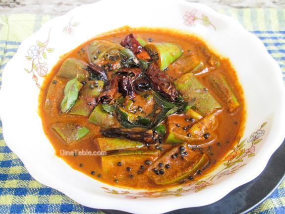 Brinjal Theeyal Recipe - വഴുതനങ്ങ തീയൽ - Onam Recipe