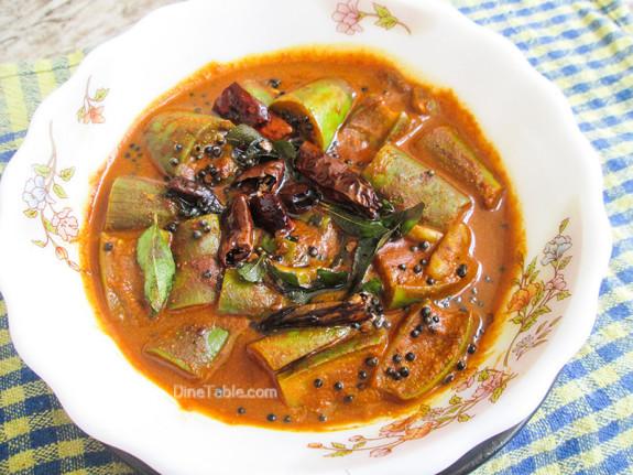 Brinjal Theeyal Recipe - വഴുതനങ്ങ തീയൽ - Sadya Recipe