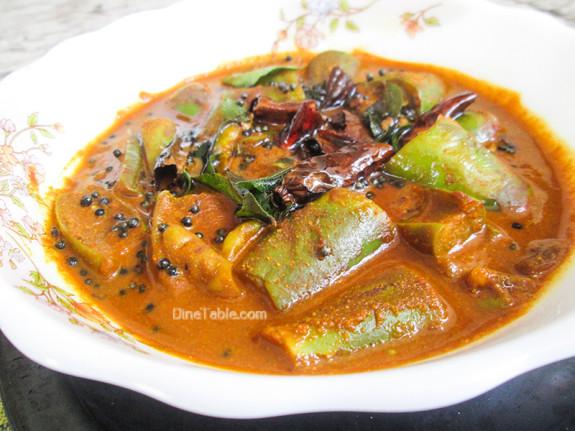 Brinjal Theeyal Recipe - വഴുതനങ്ങ തീയൽ - Tasty Recipe