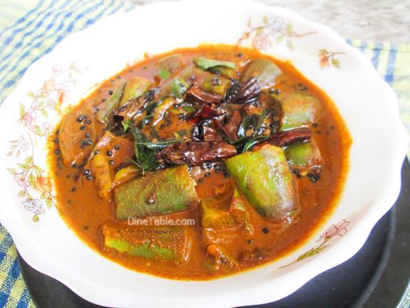Brinjal Theeyal Recipe - വഴുതനങ്ങ തീയൽ - Delicious Recipe