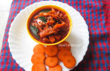 Carrot Pickle Recipe - കാരറ്റ് അച്ചാർ - Sadya Recipe - Onam Recipe