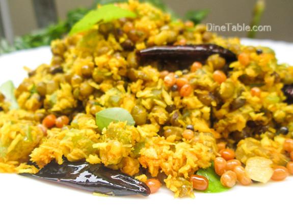 Chenathandu Cherupayar Thoran Recipe - Kerala Recipe - Healthy Recipe