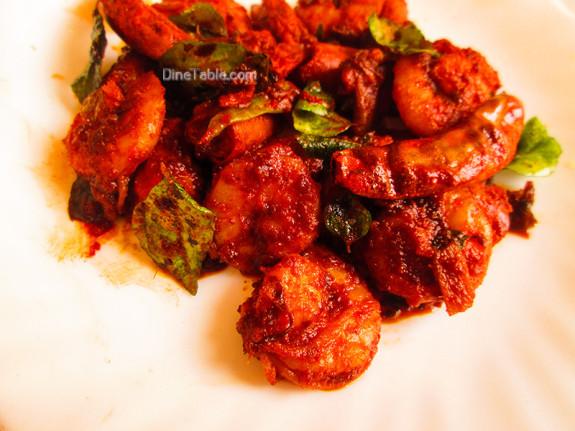 Chemmeen Ularthiyathu Recipe - ചെമ്മീൻ ഉലർത്തിയത് - Kerala Recipe