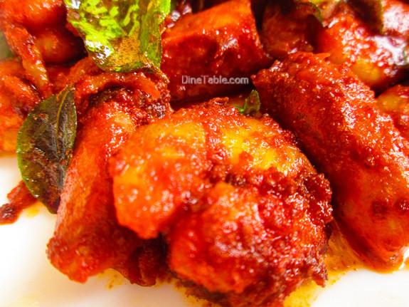 Chemmeen Ularthiyathu Recipe - ചെമ്മീൻ ഉലർത്തിയത് - Sea Food Recipe