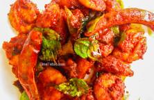 Chemmeen Ularthiyathu Recipe - ചെമ്മീൻ ഉലർത്തിയത് - Side Dish Recipe