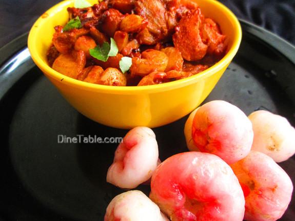 Rose Apple Pickle Recipe - ചാമ്പക്ക അച്ചാർ - Sadya Recipe
