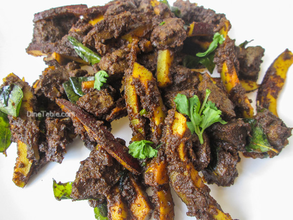 Beef Liver Fry Recipe / Karal Varuthathu / Nadan Liver Varattiyathu