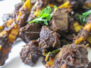 Beef Liver Fry Recipe | Karal Varuthathu
