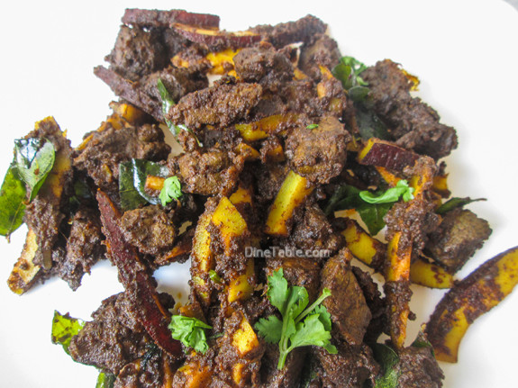 Beef Liver Fry Recipe / Karal Varuthathu / Delicious