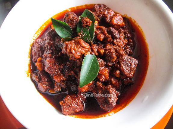 Beef Pickle / Kerala Style Irachi Achar / Spicy Recipe