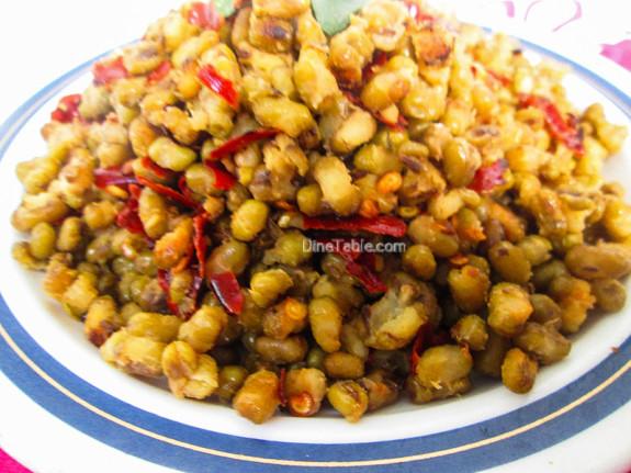 Cherupayar Ularthiyathu | Green Gram Stir Fry | Easy Recipe