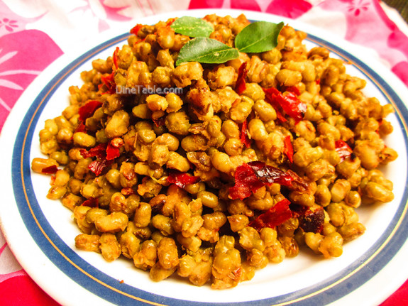 Cherupayar Ularthiyathu | Green Gram Stir Fry | Side Dish