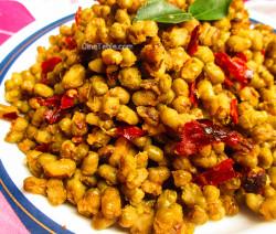 Cherupayar Ularthiyathu | Green Gram Stir Fry | Tasty Recipe
