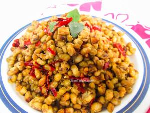 Cherupayar Ularthiyathu Recipe | Green Gram Stir Fry