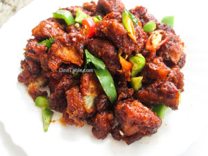 Dragon Gobi Recipe - Restaurant Style Cauliflower Recipe - Spicy Recipe