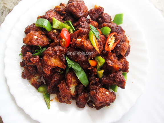 Dragon Gobi Recipe | Restaurant Style Recipe | Side Dish