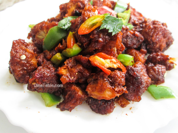 Dragon Gobi Recipe - Restaurant Style Recipe - Chinese Dish