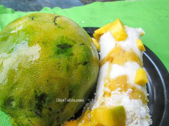 Mango Puttu Recipe - മാങ്ങ പുട്ട് - Tasty Recipe