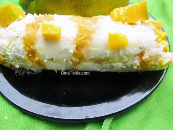 Mango Puttu Recipe - മാങ്ങ പുട്ട് - Homemade Recipe
