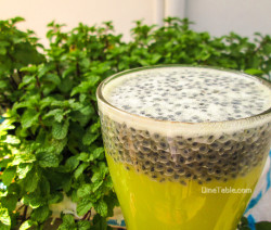 Mosambi Juice With Basil Seeds Recipe - Tasty Juice Recipe - Healthy Recipe