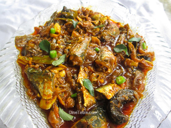 Mathi Roast Recipe - Sardine Fish Roast - Kerala Recipe
