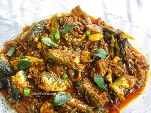 Mathi Roast Recipe - Sardine Fish Roast - Side Dish
