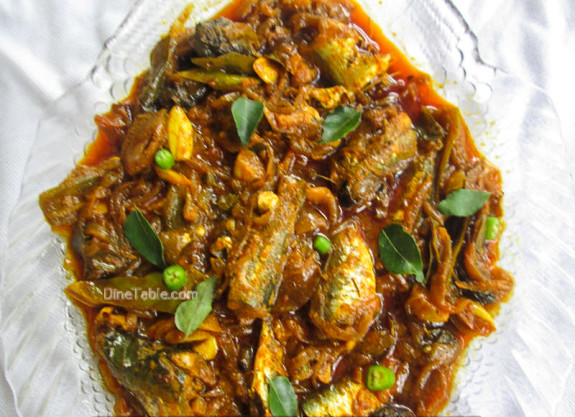 Mathi Roast Recipe - Sardine Fish Roast - Fish Roast
