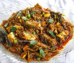 Mathi Roast Recipe - Sardine Fish Roast - Spicy Recipe