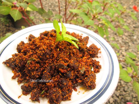 Beef Podi Masala / Beef Fry / Non-Vegetarian