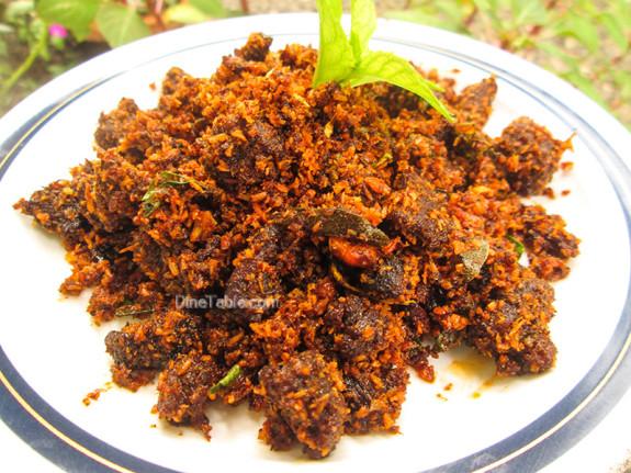 Beef Podi Masala / Beef Fry / Spicy