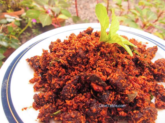 Beef Podi Masala / Beef Fry / Side Dish