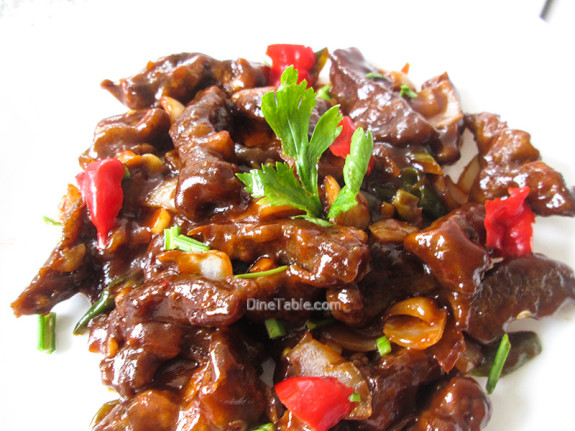 Chilly Beef / Simple Side Dish