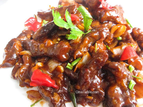 Chilly Beef / Easy Side Dish