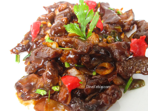 Chilly Beef / Side Dish Recipe