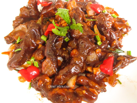 Chilly Beef / Beef Side Dish
