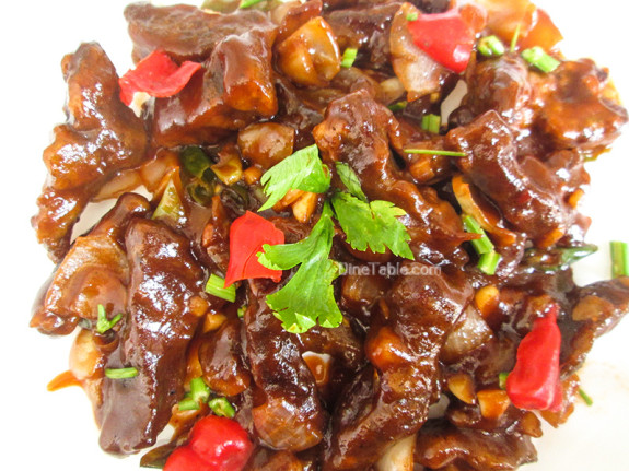 Chilly Beef / Tasty Side Dish