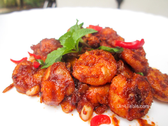 Honey Shrimp (Prawns) / Tasty Side Dish