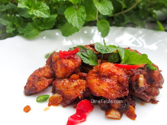 Honey Shrimp (Prawns) / Spicy Side Dish