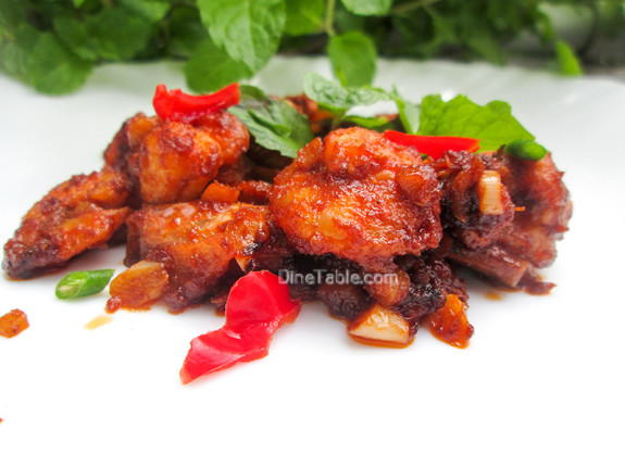 Honey Shrimp (Prawns) / Healthy Side Dish