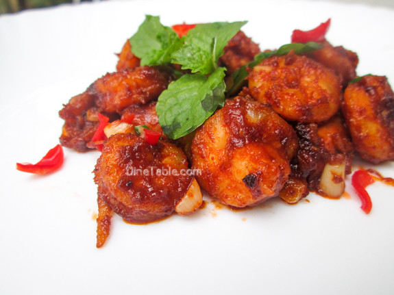 Honey Shrimp (Prawns) / Simple Recipe