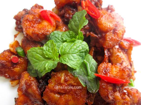 Honey Shrimp (Prawns) / Quick Side Dish