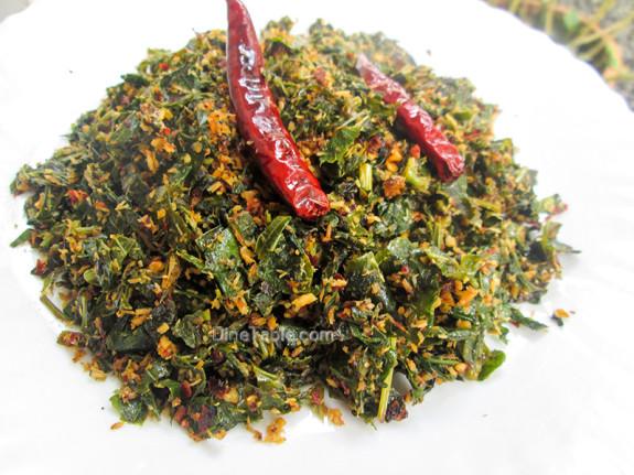 Payar Ela Thoran / Long Beans Leaves Stir Fry / Healthy