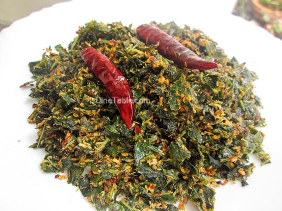 Payar Ela Thoran / Long Beans Leaves Stir Fry / Easy