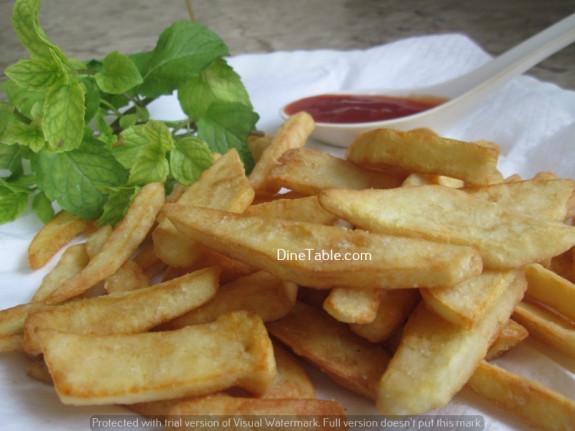 Potato Wedges / Snack Recipe