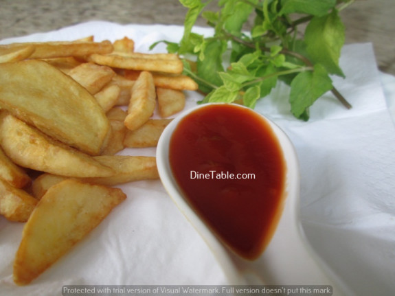 Potato Wedges / Snack Recipe / Crispy