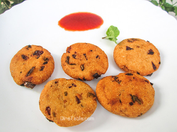 Rava Vada Recipe / Snack