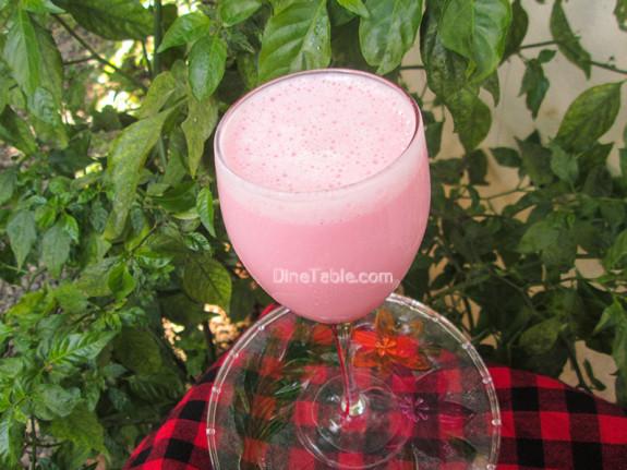Strawberry Yogurt Banana Smoothie / Homemade